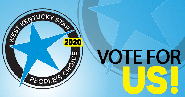 West Kentucky Star People's Choice Award 2020 Bryant Law Center Personal Injury Law Firm Vote for us!