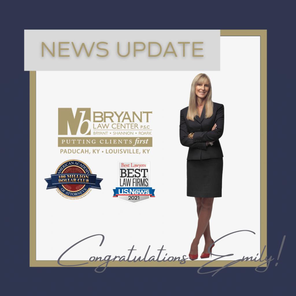 Emily Roark Zantac MDL committee member announcement graphic